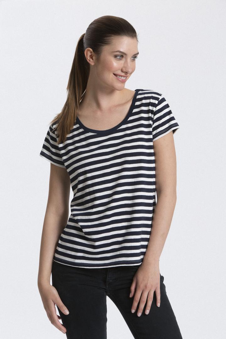 tričko pruhované námořnické